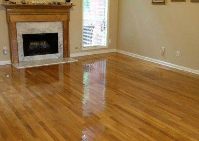 hardwood floor resurfacing and refinishing in Houston
